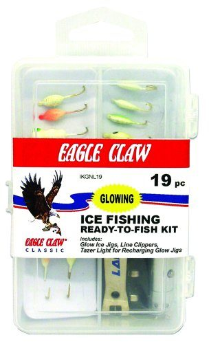 Eagle Claw Glow Kit Ice Fishing Lure