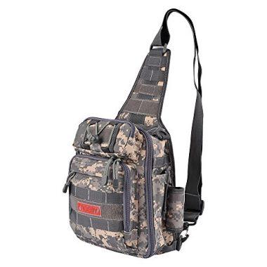 Fiblink Waterproof Sports Bag Fly Fishing Sling Pack