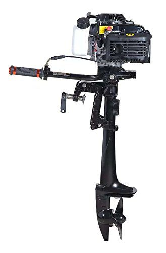 Four Stroke Air-Cooled 4 HP Outboard Motor by Leadallway