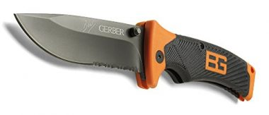 Bear Grylls Folding Sheath Knife by Gerber