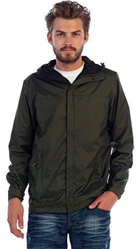 Gioberti Men's Waterproof Rain Jacket