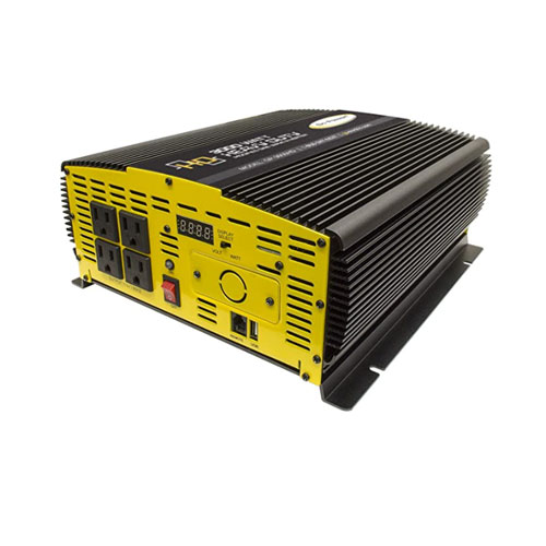Go Power! 3000-Watt Heavy Duty High Wattage Marine Power Inverter