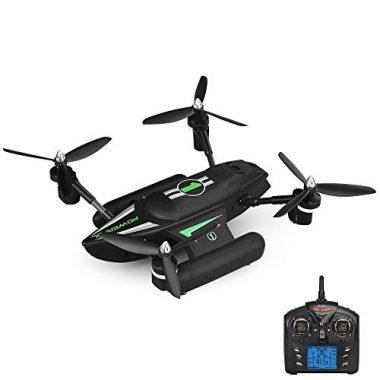 Goolsky Q353 Triphibian Air-Ground-Water RC Quadcopter RTF Drone