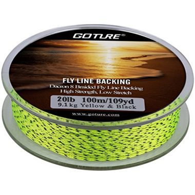 Goture 8 Strands Braided Fly Backing Fishing Line