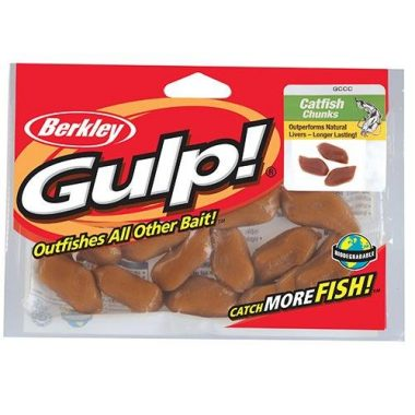 Berkley Gulp! Catfish Soft Fishing Bait Chunks