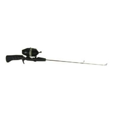 HT Enterprise Hardwater Spincast Reel Combo and Ice Fishing Rod