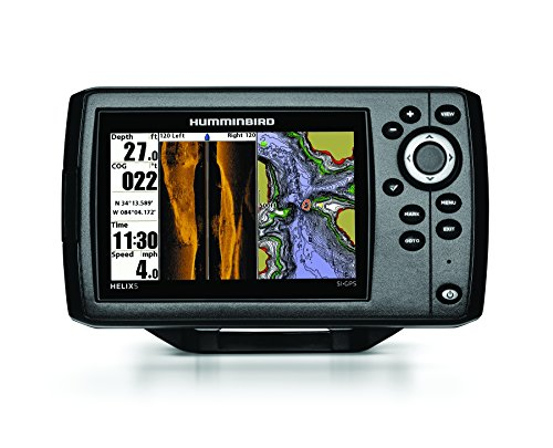 Humminbird 409640-1 HELIX 5 SI Side-Imaging and GPS Fish Finder