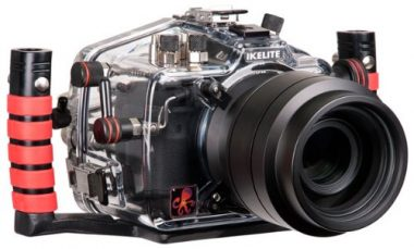 Underwater Camera Housing for Canon Digital EOS 5D Mark III Camera (Clear) by Ikelite