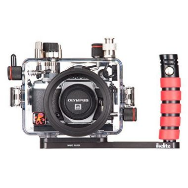 Underwater Camera Housing for Olympus OM-D E-M5 Mark II Mirrorless Camera by Ikelite