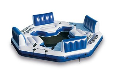 Intex Pacific Paradise Relaxation Station Water Floating Island Raft