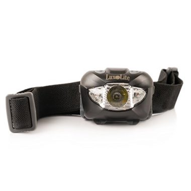 LED Headlamp Flashlight with Red Light By Luxolite