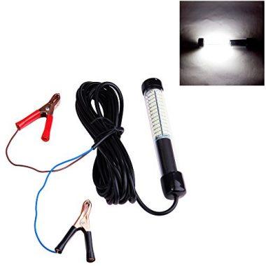 Lightingsky Lumens LED Submersible Fishing Light Underwater Fish Finder Lamp