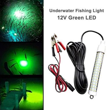 Glow Lion Green LED Underwater Night Fishing Light Lure