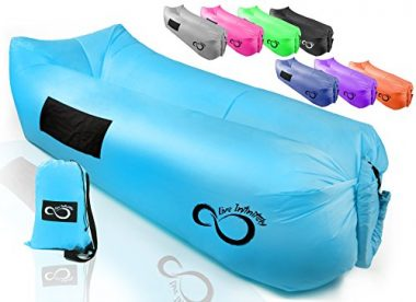 iZEEKER Wind Breezy Pouch Inflatable Lounger