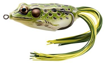 LIVE TARGET Livetarget Hollow Body Frog Lures For Pike