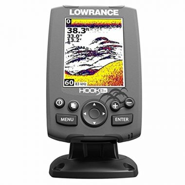 Lowrance 000-12635-001 Hook-3X Sonar, Ice Fishing Fish Finder