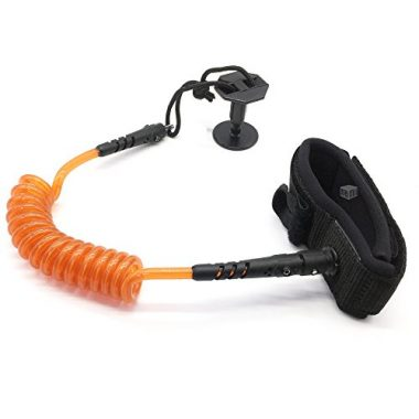 MAYMII Bodyboard Coiled Wrist Leash, Boogie Board bicep leash Strap Leash