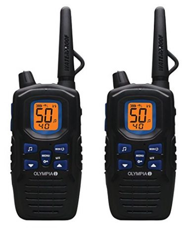 Rugged Waterproof Two-Way Radios by Olympia