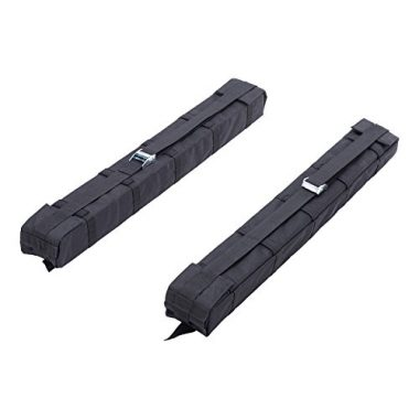 OrionMotorTech Universal Car Soft Roof Rack Luggage Carrier Surfboard Paddleboard
