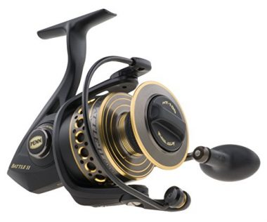 Penn Battle II Fishing Spinning Reel For Bass