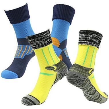 Randy Sun Unisex Waterproof & Breathable Hiking/Trekking/Ski Mid-Calf Socks