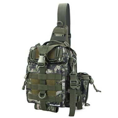 RUNATURE Small Tackle Bag Fly Fishing Sling Pack