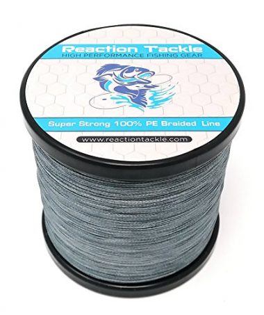 Reaction Tackle High Performance Braided Ice Fishing Line