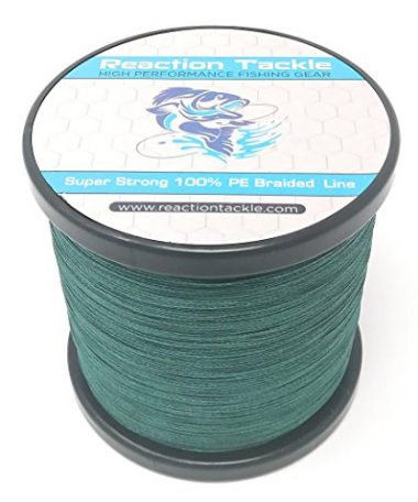 High Performance Braided Fishing Line By Reaction Tackle