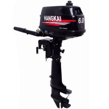 Outboard Motor 6 HP 2 Stroke by Sea Dog Water Sports