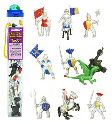 Safari LTD Knights and Dragons Miniature Figurines Beach Toys