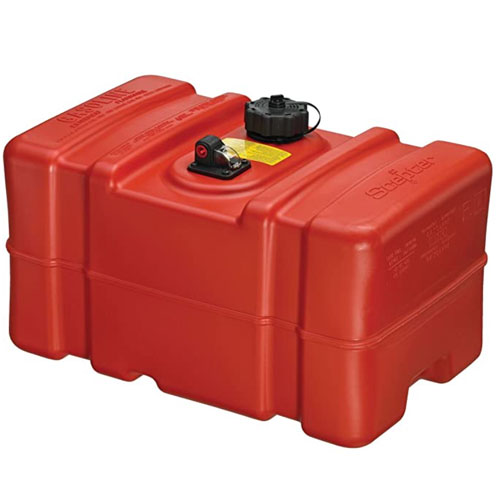 Scepter 12 Gallon Red Boat Fuel Tank