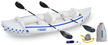 Sea Eagle SE370 Deluxe Package Inflatable Angler Kayak