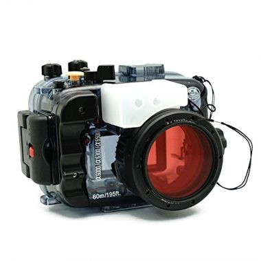 Underwater Camera Housing for Sony A6500 A6300 A6000 (+ Red Filter) by Sea frogs