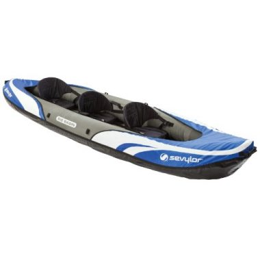 Sevylor Big Basin 3-Person Inflatable Angler Kayak