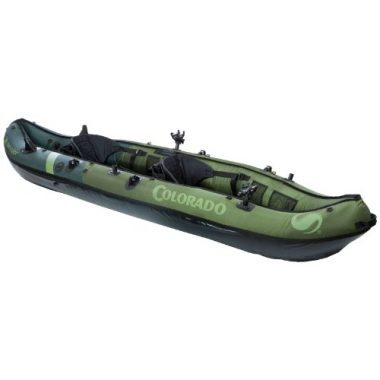 Sevylor Coleman Colorado 2-Person Inflatable Angler Kayak
