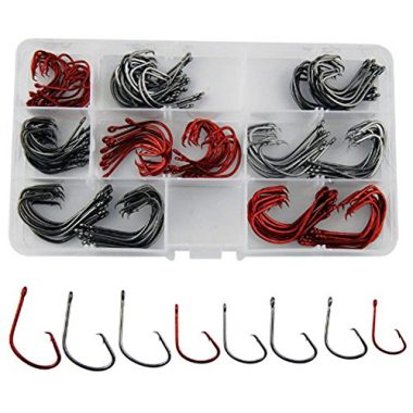 JL Sport Shaddock Fishing 160pcs/box 7381 Hooks For Catfish