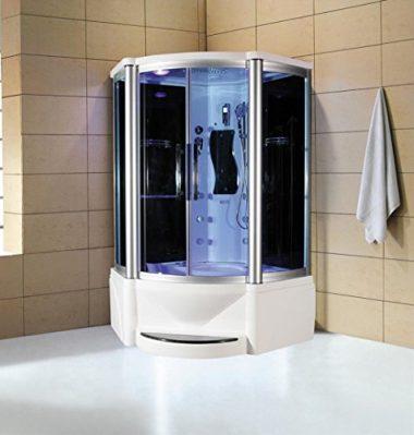 Sliding Door Steam Shower Enclosed Unit By Eagle Bath
