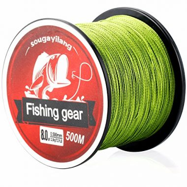 Sougayilang Multifilament Superbraid Braided Fishing Line