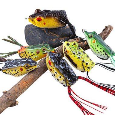Sougayilang Hollow Frog Fishing Lures
