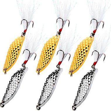 Sougayilang Spoons Hard Fishing Lures