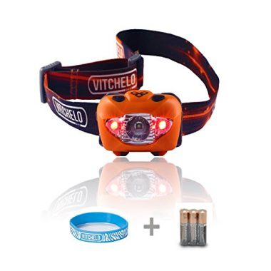 V800 Waterproof Headlamp By Vitchelo