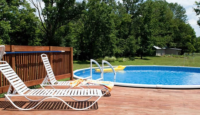 10 Best Above Ground Pool Ladders in 2019 [Buying Guide