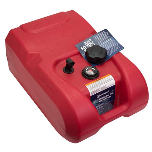 Attwood 8806LP2 EPA and CARB Certified Boat Fuel Tank