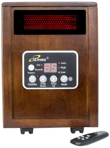 iLIVING Portable Space Infrared Heater
