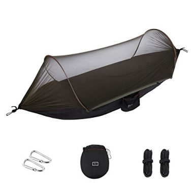 isYoung Tent with Mosquito Net Camping Hammock