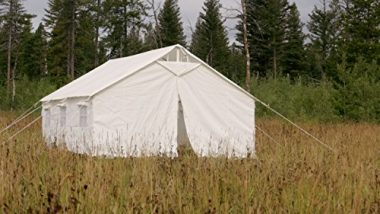 Canvas Wall Tent by Elk Mountain