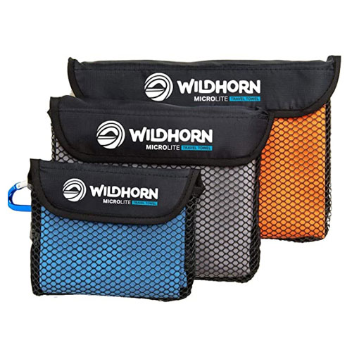 WildHorn Outfitters Microlite Camp Towels