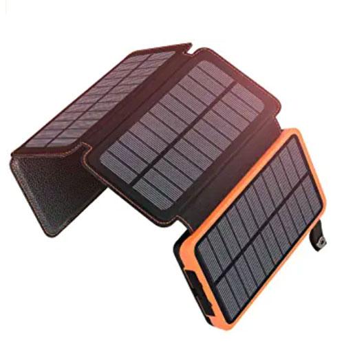 ADDTOP 2500mAh Solar Charger Power Bank