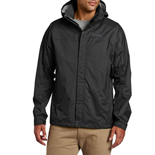 MARMOT Men's Precip Lightweight Waterproof Hardshell Jacket