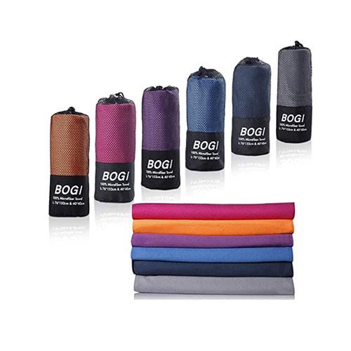 BOGI Towel Microfiber Antimicrobial Quick Dry Camp Towel